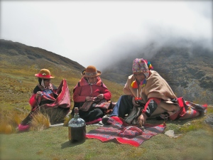 Despacho Ceremony in the Apus (Mountains)