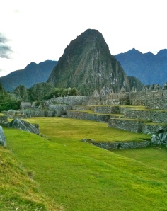 Morning Stillness at Machu Picchu