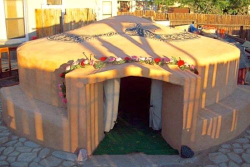 Entrance to Temezcal